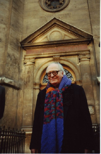 The world's greatest scarf and Olivier Messiaen
