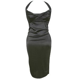 Stylish black dress, regrettably sans Drink Ambassador