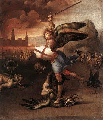 Raphael's Saint Michael