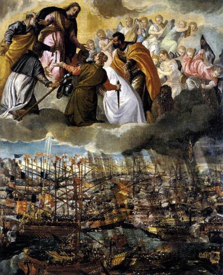 The Battle of Lepanto by Veronese